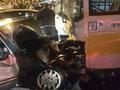 Bakıda dəhşətli avtobus qəzası: 2 ölü, 2 yaralı - YENİLƏNİB - FOTO: HADİSƏ