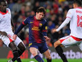 Barselonada Messi şousu: İdman