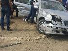 """Bakı Dairəvi yolunda iki """"Mercedes"""" qəza törətdi: HADİSƏ"""