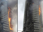 Rusiyada 25 mərtəbəli bina yandı: Dünyada