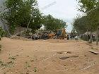 Fabrikdə qəza: 600 ton taxıl yola dağıldı - YENİLƏNİB - FOTO: HADİSƏ