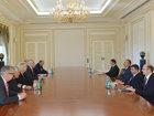 Prezident İlham Əliyev Almaniya nümayəndə heyətini qəbul edib - YENİLƏNİB - FOTO: SİYASƏT