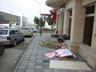 Bakıda piyada səkisini metr-metr satdılar - VİDEO - FOTO: CƏMİYYƏT