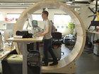 Ofisdə ən faydalı iş yeri - FOTO: Fotosessiya