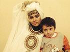 Xuraman Şuşalı oğlu ilə - FOTO: ŞOU-BİZNES
