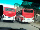 Bakıda iki marşrut avtobusu ötüşərkən toqquşdu, yaralılar var - YENİLƏNİB - FOTO: HADİSƏ