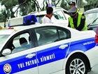 Bakıda sürücünün yanındakı sərnişin polisi şoka saldı - VİDEO: CƏMİYYƏT