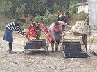 Goranboyda öldürülən 7 nəfər torpağa tapşırıldı - FOTO: KRİMİNAL