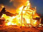 Ev yandı, uşaqlar kül oldu: Dünyada