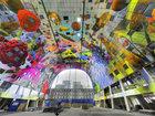 Qapalı bazarda bolluq buynuzu - FOTO: Fotosessiya