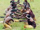 Papuaslar Yeni ili qeyd etdilər - FOTO: Maraqlı