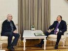 Prezident İlham Əliyev rusiyalı kinorejissor Nikita Mixalkovu qəbul edib - FOTO: SİYASƏT