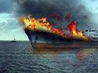 Bakıda gəmi yandı: HADİSƏ