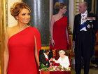 Prezident xanımı al geyindi - FOTO: Dünyada