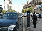 Bakıda quraşdırılan parkomat avtobusların yolunu kəsdi - FOTO: CƏMİYYƏT