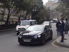 """Bakının mərkəzində """"Bentley"""" qanunu saymır - FOTO: CƏMİYYƏT"""