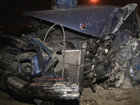 Bakıda yas maşını ilə BMW qəza törətdi, yaralı var - FOTO: HADİSƏ