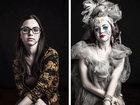 Burlesk aləminin kişi və qadınları - FOTO: Fotosessiya