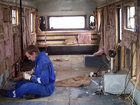 Məktəb avtobusu ev oldu - FOTOSESSİYA: Fotosessiya