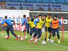 Millimiz Rusiya ilə oyuna belə hazırlaşır - FOTOSESSİYA: İdman