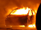 Tələbənin avtomobili yandı: HADİSƏ