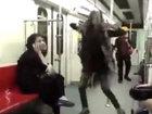 Tehran metrosunda hicablı qız rəqs etdi - VİDEO - FOTO: Maraqlı