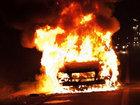 Sumqayıtda avtomobil yanıb: HADİSƏ