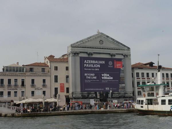 Venesiyada Azərbaycan pavilyonunun açılışından videoçarx yayımlanıb - VİDEO - FOTO