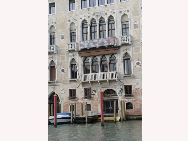 Venesiya Biennalesində YARAT Müasir İncəsənət Mərkəzinin sərgisinin açılışından videoçarx