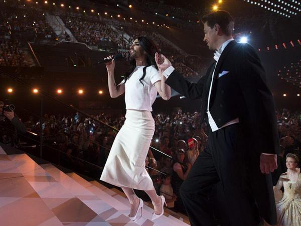 """""""Eurovision""""un birinci yarımfinalı - FOTO"""