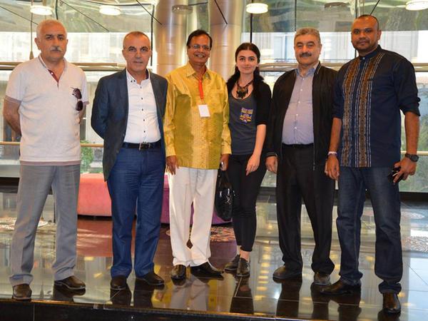Dövlət Gənc Tamaşaçılar Teatrında Şri-Lankanın mədəniyyət naziri ilə görüş keçirilib - FOTO