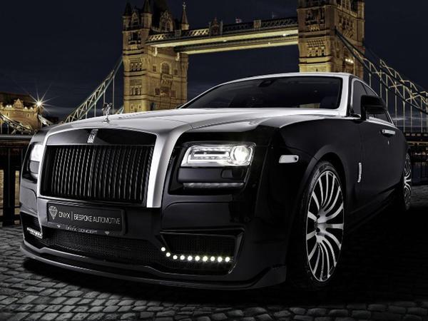 Möhtəşəm  Rolls-Royce Ghost - FOTO