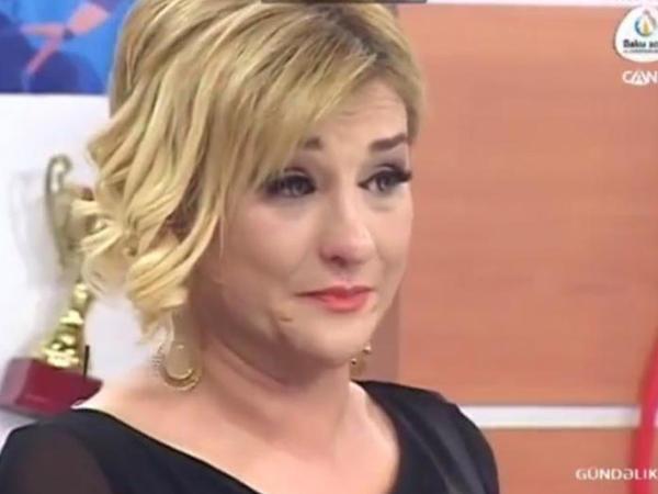 """Mətanət ağlayaraq üzr istədi: """"Mən də övladımı itirmişəm"""" - VİDEO"""