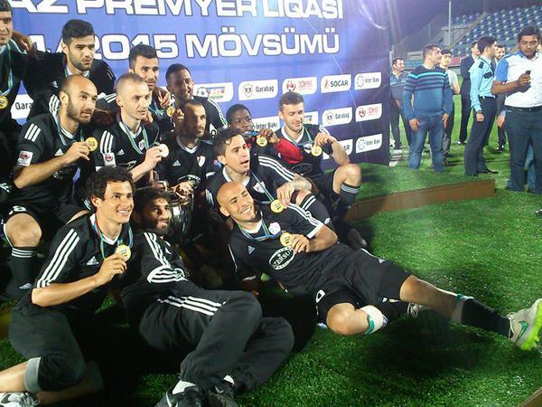 """""""Qarabağ"""" kubokuna qovuşdu - FOTO"""