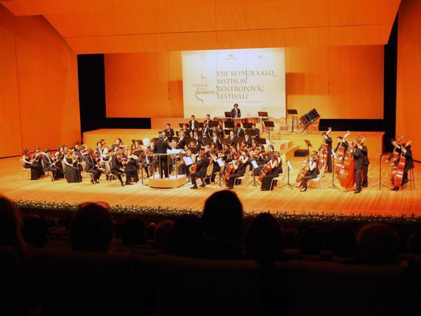 Bakıda keçirilən VIII Beynəlxalq Mstislav Rostropoviç festivalı başa çatıb