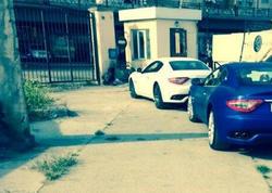"""Bakıdakı """"Maserati""""lər cərimə meydançasında - FOTO"""