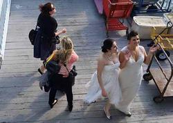 Elnarə ilə amerikalı məmur qızının eynicinsli nikahından FOTOLAR