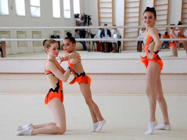Bakı Gimnastika Məktəbində akrobatika gimnastikası üzrə yarışlar keçirilib - FOTO