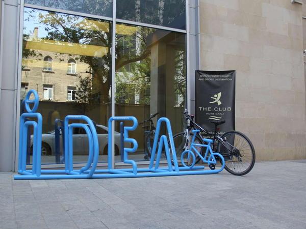 """""""IDEA velosiped dayanacağı"""" quraşdırıldı - FOTO"""