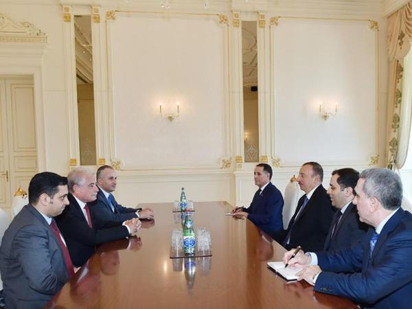 Prezident İlham Əliyev Misirin Cənubi Sinay əyalətinin qubernatorunu qəbul edib - FOTO