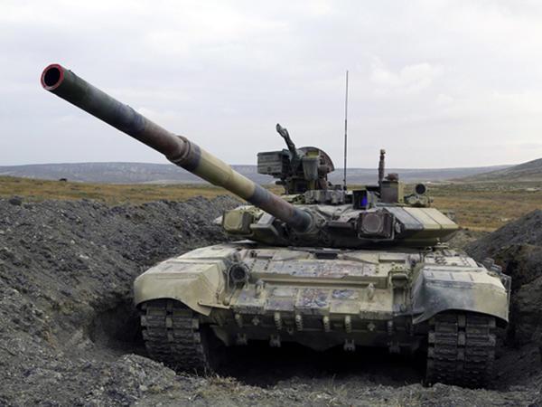 Azərbaycanın tank birləşmələri döyüşə hazırlaşır - VİDEO
