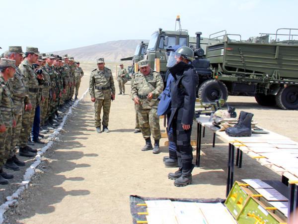 Azərbaycan ordusundan daha bir təlim - FOTO - VİDEO