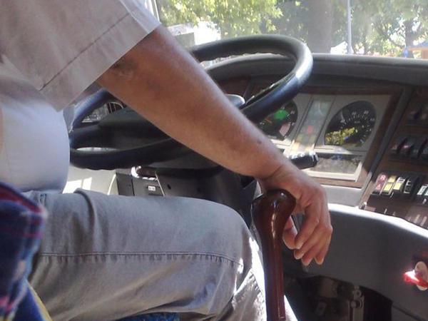 Bakıda bir avtobus sürücüsü də yolunu azdı - VİDEO