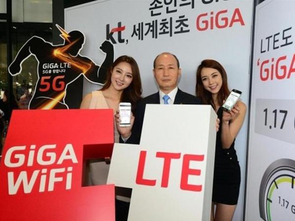 Giga-LTE şəbəkəsi sınanır