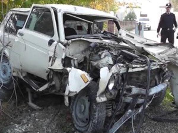 Bakı-Şamaxı yolunda dəhşət: 3 ölü, 2 yaralı