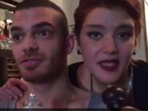 Elnur qovulduğu deyilən bardan VİDEO paylaşdı