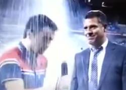 AzTV-nin efirində KURYOZ hadisə - VİDEO