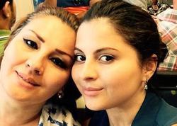 Aybəniz Haşımova qızı ilə İstanbulda - FOTO