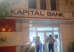 """""""Kapital bank""""a basqının TƏFƏRRÜATı açıqlandı - YENİLƏNİB - FOTO"""
