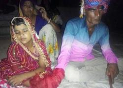 35 yaşlı kişi 6 yaşlı qız ilə evləndi - FOTO